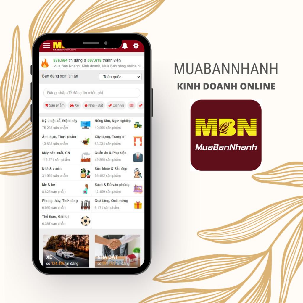 Khởi nghiệp Kinh doanh online MuaBanNhanh hiệu quả